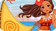 Игра Корабль Принцессы Моаны