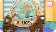 Игра Автомойка Полицейской Машинки