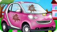 Игра Автомойка Розовой Машины