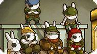 Игра Кролики Солдаты