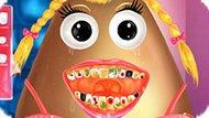 Игра Лечить Зубы Девочке Поу