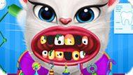 Игра Лечить Зубы Говорящей Анжеле