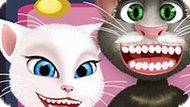 Игра Лечить Зубы Тому, Анджеле И Джинджеру
