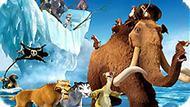 Игра Ледниковый Период 4: Собери Пазл