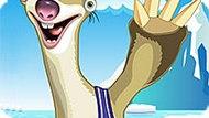 Игра Ледниковый Период: Одень Ленивца