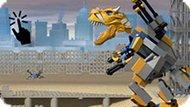 Игра Лего Робот Динозавр