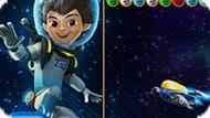 Игра Майлз С Другой Планеты: Стрелок Пузырями