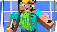 Игра Майнкрафт: Грязный Стив
