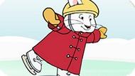 Игра Макс И Руби: Катание На Коньках