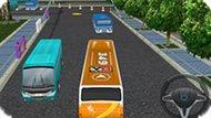 Игра 3Д Парковка Автобуса