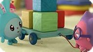 Игра Малышарики Пазл: Кубики