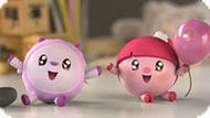 Игра Малышарики Пазл: Нюшенька И Барашик