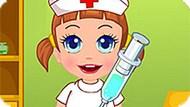 Игра Малышка Севен — Медсестра