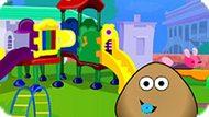 Игра Малыш Поу На Детской Площадке