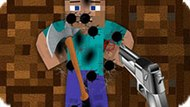 Игра Манкрафт: Уничтожить Стива