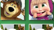 Игра Маша И Медведь Идут В Школу