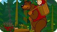 Игра Маша И Медведь Играют В Теннис