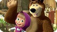 Игра Маша И Медведь: Крестики-Нолики