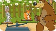 Игра Маша И Медведь: Кто Тяжелее?