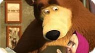 Игра Маша И Медведь: Найди Отличия