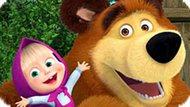 Игра Маша И Медведь: Пазлы Для Детей