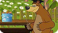 Игра Маша И Медведь: Сколько Фруктов?