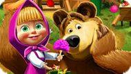 Игра Маша И Медведь: Уборка Вокруг Дома