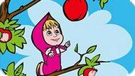 Игра Маша И Медведь: Вкусные Яблоки
