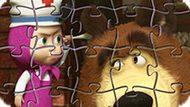 Игра Маша И Медведь: Волшебные Пазлы