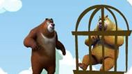 Игра Медведи-Соседи: Освободи Друга