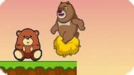 Игра Медведи-Соседи: Приключение Медведя