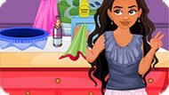 Игра Моана Убирает В Кухне