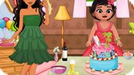 Игра Моана: Уборка После Вечеринки