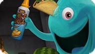 Игра Монстры Против Пришельцев: Мега Еда