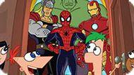 Игра Мстители: Финис И Ферб