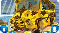 Игра Мыть Школьный Автобус