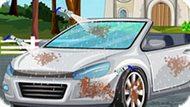 Игра Мыть Свадебную Машину Рапунцель