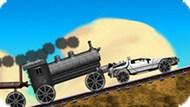 Игра Назад В Будущее. Сцена С Поездом