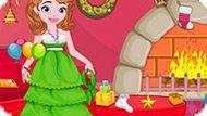 Игра Новогодняя Уборка Принцессы Софии