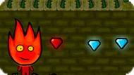 Игра Огонь И Вода 5: Прыжки В Лесу