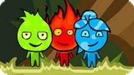 Игра Огонь И Вода На Троих: Джунгли Амазонки