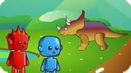 Игра Огонь И Вода В Мире Динозавров