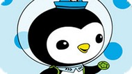 Игра Октонавты Раскраска: Пингвин Песо