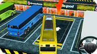 Игра Парковка Автобуса 3Д
