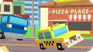 Игра Пиксельная Дорога: Такси Депо