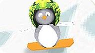 Игра Пингвиненок На Сноуборде