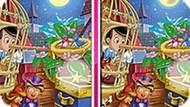 Игра Пиноккио: 10 Различий