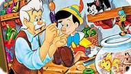 Игра Пиноккио: Онлайн Раскраска