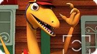 Игра Поезд Динозавров: Фотоохота