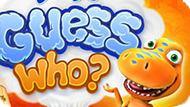 Игра Поезд Динозавров: Угадай Кто?